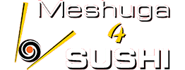 Meshuga 4  Sushi Logo